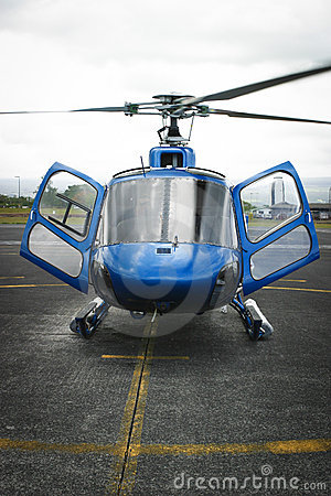 Hawaii - Helicopter tours Editorial Stock Image
