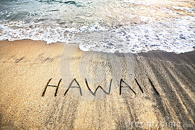 Hawaii on the sand