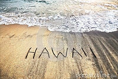 Hawaii on the sand