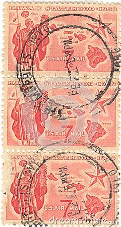 Hawaii Statehood Stamp
