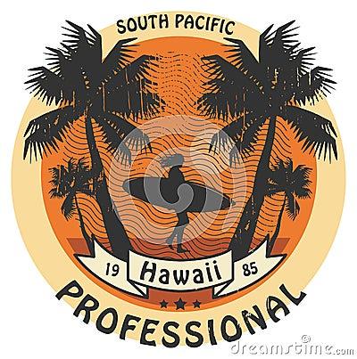 Free Hawaii Surfer Sign Stock Photos - 34104763
