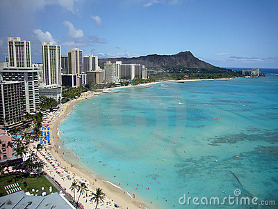 Hawaii Waikiki Beach