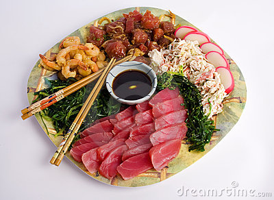 Hawaiian Appetizer Plate