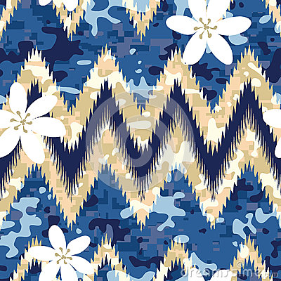 Free Hawaiian Camo Royalty Free Stock Images - 28984769