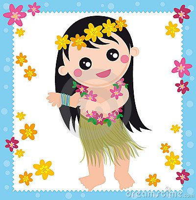 Hawaiian girl