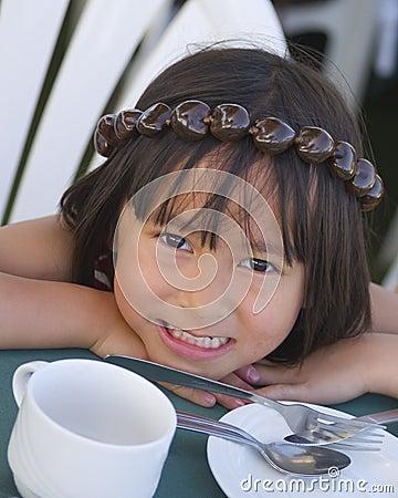 Free Hawaiian Girl Stock Photography - 9574252