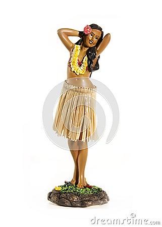 Free Hawaiian Hula Doll Stock Images - 10930274