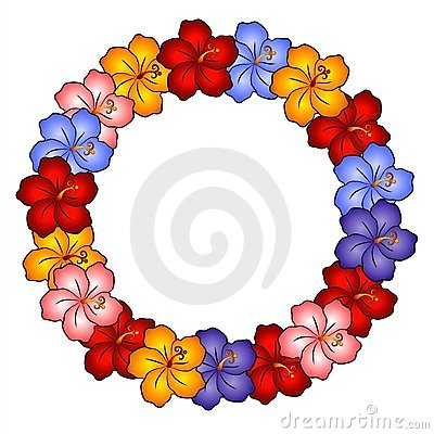 Free Hawaiian Lei Hibiscus Flowers Royalty Free Stock Photos - 2292318