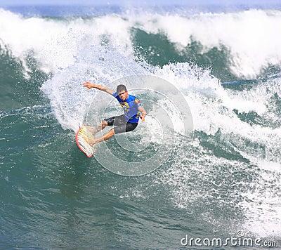 Hawaiian Pro 2008 at Haleiwa Beach Editorial Photo