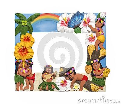 Hawaiian style frame