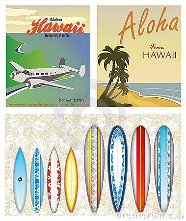 Free Hawaiian Themes Royalty Free Stock Images - 22573379