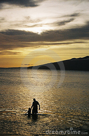 Hawaiischer Sonnenuntergang