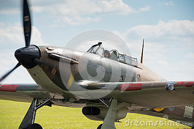 Hawker Hurricane Editorial Photo