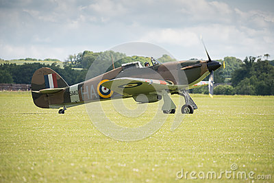 Hawker Hurricane Editorial Image