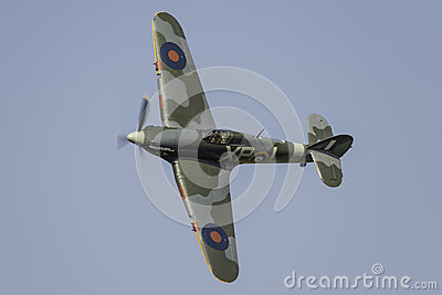 Hawker Hurricane fighter plane