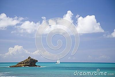 Hawksbill Rock, Antigua