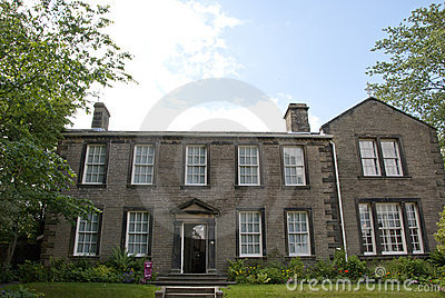 Haworth Parsonage Stock Photo