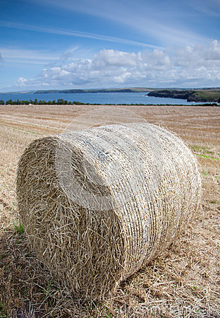 Hay Bail Cornwall Coast