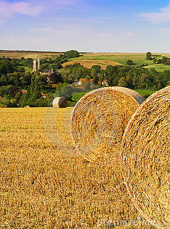 Free Hay Bails Stock Image - 136301