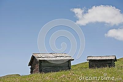 hay hut idyll