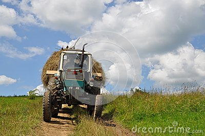 Hay transportation