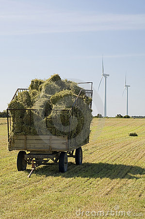 Free Hay Wagon Stock Photo - 861110