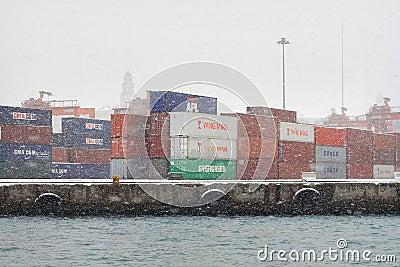 Haydarpasa Seaport Editorial Photo