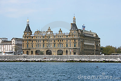 Haydarpasa Train Station Editorial Stock Image