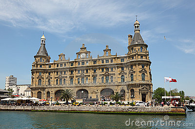 Haydarpasa Train Station, Istanbul Editorial Photography