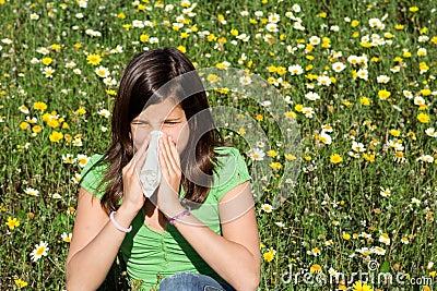 Hayfever allergy