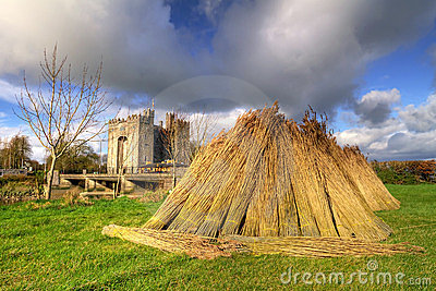 Haystack at Bunratty castle