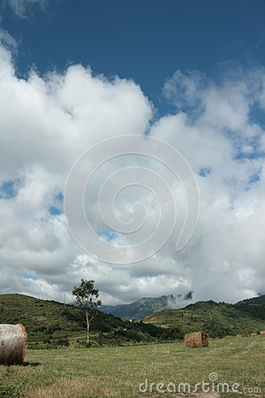 Haystack in Pyrenees