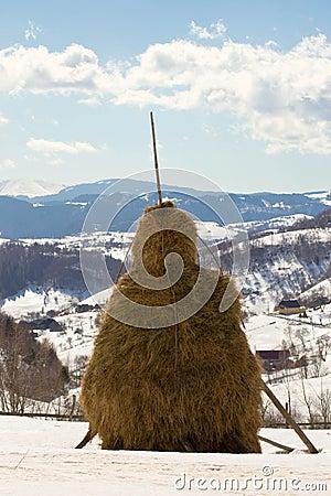 A haystacks