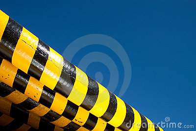 Hazard Barriers Royalty Free Stock Photography - Image: 15457107