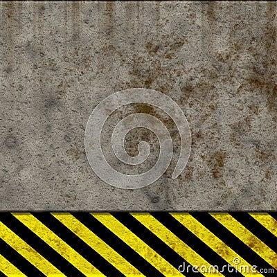 Hazard wall