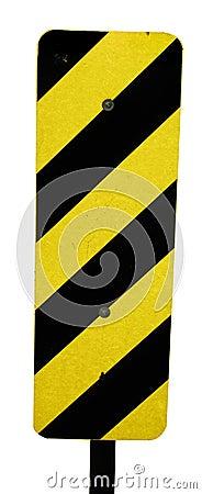 Hazard warning sign