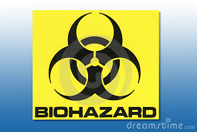 Hazard Warning Sign - Biohazard