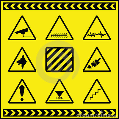 Hazard Warning Signs 2