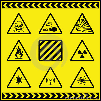 Hazard Warning Signs 5