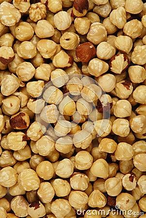 Hazelnut texture