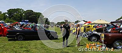 HCS Car Show Editorial Image