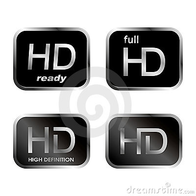 HD icons - buttons
