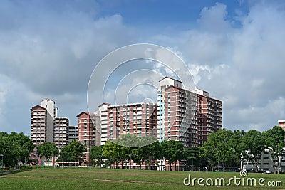 HDB estate in Hougang