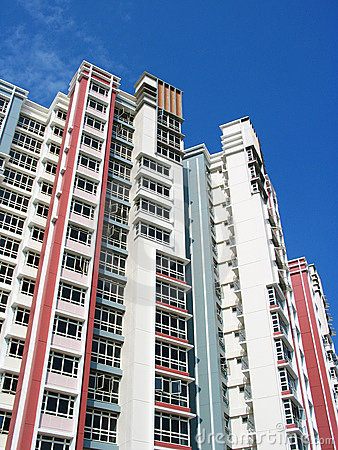 Free HDB Flats Royalty Free Stock Photography - 95077