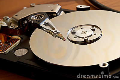 HDD drive on server storage