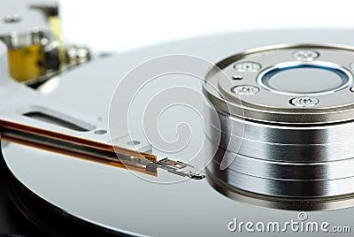 HDD drive inside