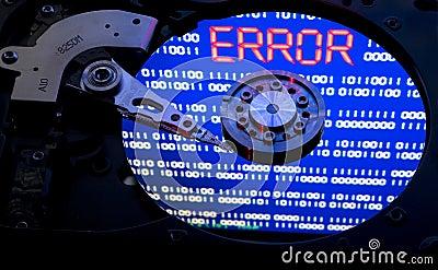 Hdd error