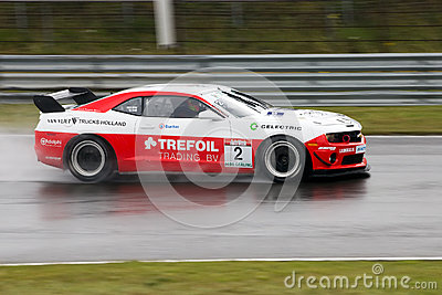 HDI-Gerling Dutch GT Championship Editorial Stock Photo
