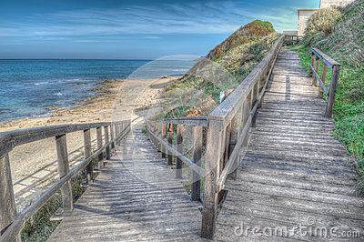 Hdr boardwalk