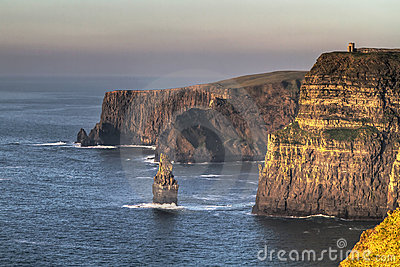 HDR of Cliffs of Mother